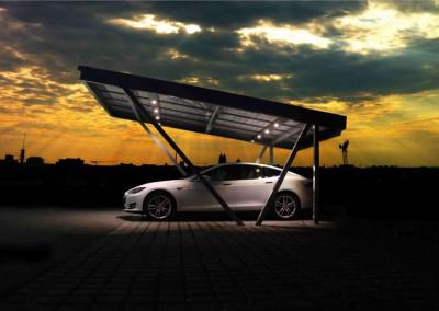 Carport aus Aluminium